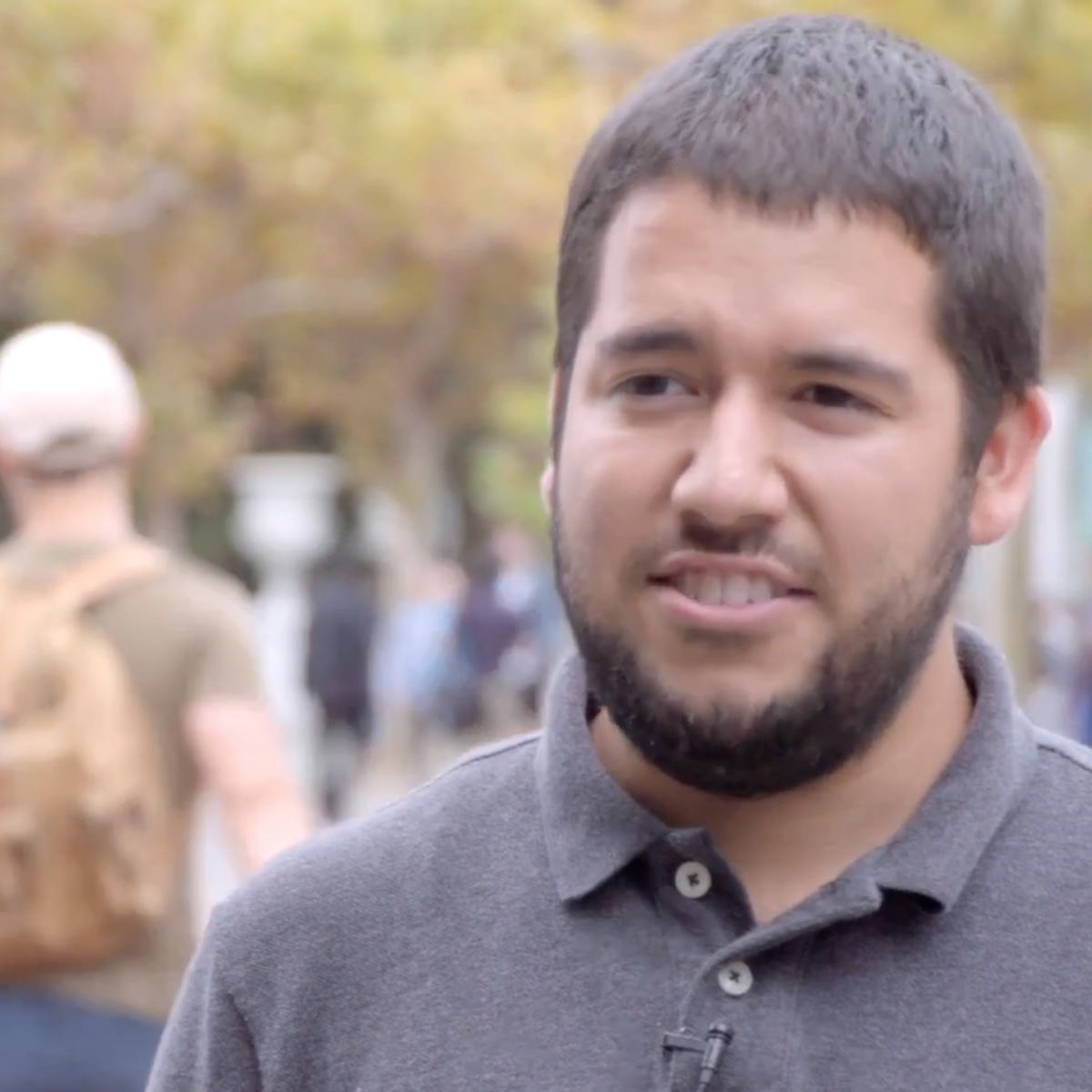 video still: Student explains how Yup has changed his outlook on math dramatically